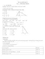 Bài giảng Ôn tập Hình học phẳng Lớp 9