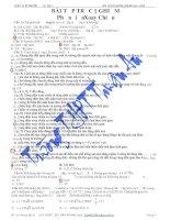 Tài liệu 260 bài tập trắc nghiệm phần điện xoay chiều (Có đáp án) pdf