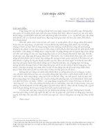 Tài liệu Giới thiệu ARM pdf