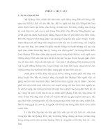 Tìm hiểu cụm di tích lịch sử   văn hoá và lễ hội cầu ngư ở xã quảng tiến (sầm sơn   thanh hoá)