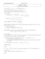 Tài liệu Bài tập toán ôn thi đại học khối A 2008 có lời giải hướng dẫn pptx