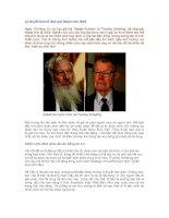 Tài liệu Lý thuyết kinh tế đoạt giải Nobel năm 2005 pdf
