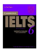 Cambridge ielts 6 test1