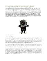 """Tài liệu Âm thanh trong marketing: Không đơn thuần chỉ là """"phụ gia""""! doc"""