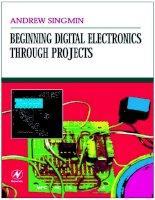 Beginning analog electronics through projects, 2 ed