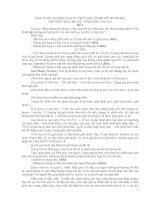 ĐÁP án đề THI môn LỊCH sử TRIẾT học ấn độ cổ TRUNG đại