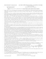 Tài liệu Đề thi ĐH Lý khối A 2002 docx