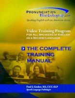 Pronunciation workshop - luyện phát âm tiếng Anh giọng Mỹ