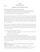 Tài liệu Unit_6: Operating systems pptx
