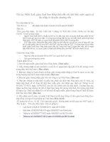 Tài liệu Thủ tục Miễn thuế 6 pptx