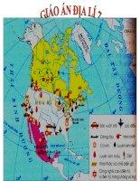 Bài giảng Tiết 45: Thực hành tìm hiểu vùng công nghiệp truyền thốn ở Đông Bắc Hoa kì