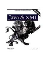 Tài liệu O''''Reilly - Java & XML, 2nd Edition ppt