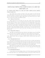 Tài liệu Những đặc điểm công nghệ cơ bản của một số thép khi cán pdf