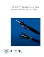 Tài liệu Datasheet - FO - Cable - In & Outdoor Loose Tube - HIGHLIGH doc