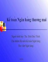 Tài liệu Chương 4: Kế toán nghiêp̣ vu ̣ tiń duṇg & đâù tư doc