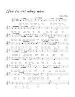 Tài liệu Bài hát còn ta với nồng nàn - Quốc Bảo (lời bài hát có nốt) ppt