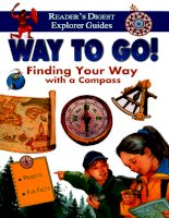 Find your way with compass