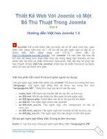 Tài liệu Thiết Kế Web Với Joomla part 6 ppt