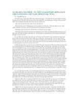 Tài liệu Tự do hoá tài chính- xu thế và giải pháp chính sách cho ngân hàng Việt Nam thời kỳ hậu WTO docx