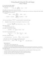 phương pháp giải bài tập phần Dẫn xuất -halogen - ancol -phenol