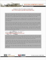Tài liệu English for Business (Lesson 4) pptx