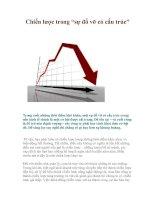 """Tài liệu Chiến lược trong """"sự đổ vỡ có cấu trúc"""" ppt"""
