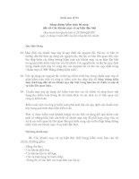 Tài liệu Hệ thống chuẩn mực kế toán Việt Nam - Chuẩn mực số 501 Bằng chứng kiểm toán bổ sung đối với các khoản mục và sự kiện đặc biệt pptx