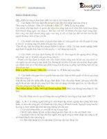 Bài tập tình huống luật