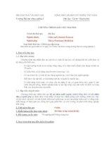 Tài liệu Chương trình giáo dục đại học chuyên ngành chăn nuôi ( thú y) của Trường Đại học Nông nghiệp I docx