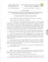 Tài liệu thi tuyển công chức xã, phường, thị trấn 2013