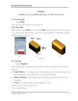 Tài liệu Chương 5: Chỉnh, sửa, tạo khối nhanh các đối tượng 3D pdf