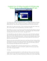 Tài liệu LogMeIn Free với những công nghệ mới tiết kiệm năng lượng giúp máy vi tính có thể được mở suốt ngày pptx