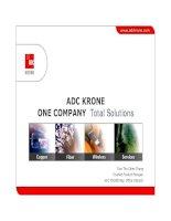 Tài liệu Presentation - ADC KRONE - Corporate Overview - SE Asia 2006 pdf