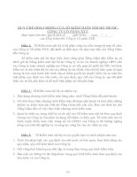 Tài liệu QUY CHẾ HOẠT ĐỘNG CỦA TỔ KIỂM TOÁN NỘI BỘ THUỘC CÔNG TY CỔ PHẦN XYZ pdf