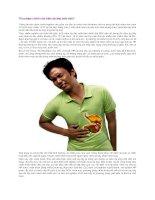 Thủ phạm chính của viêm dạ dày mãn tính