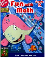 Skills Booster-  Fun with math -  Grade K