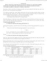 Tài liệu Chương III: PHÂN TÍCH GIÁ THÀNH SẢN XUẤT SẢN PHẨM CỦA DOANH NGHIỆP. pptx