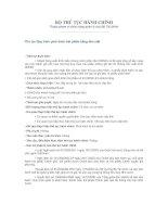 Tài liệu Thủ tục Quy trình phát hành trái phiếu bằng tiền mặt pdf