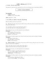 Bài giảng GRAMMAR UNIT 12