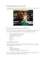 Tài liệu Những nhóm thực phẩm cần có trong ngày pdf
