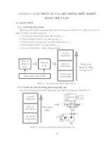 Tài liệu Các phần tử của hệ thống điều khiển bằng thủy lực doc