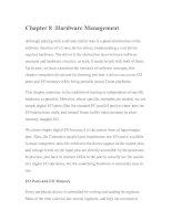 Tài liệu Linux Device Drivers-Chapter 8 :Hardware Management docx