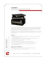 Tài liệu TrueNet® RMG Series Rack Mount Fiber Enclosures docx