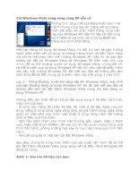 Tài liệu Cài Windows Vista song song cùng XP sẵn có pdf