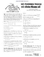 CAC CHUYEN DE TOAN CHON LOC CUA CAP 2 ( NGUYEN VAN QUI )