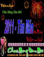 Bài soạn chúc mừng năm mới Tân Mão với Ly Rượu Mừng