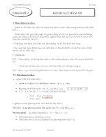 Tài liệu Ôn tập khảo sát hàm số luyện thi ppt