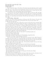 Tài liệu Bộ môn tiếng anh - Kỹ năng đọc trong việc dạy và học pdf