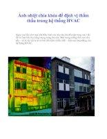 Tài liệu Ảnh nhiệt chìa khóa để định vị thẩm thấu trong hệ thống HVAC docx