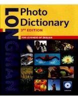 Từ điển tiếng Anh qua nhiều hình ảnh minh họa